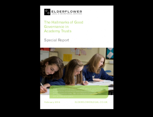 Special Report: Hallmarks of Good Governance in Academy Trusts