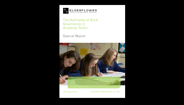 Special Report Good Governance in Academy Trusts